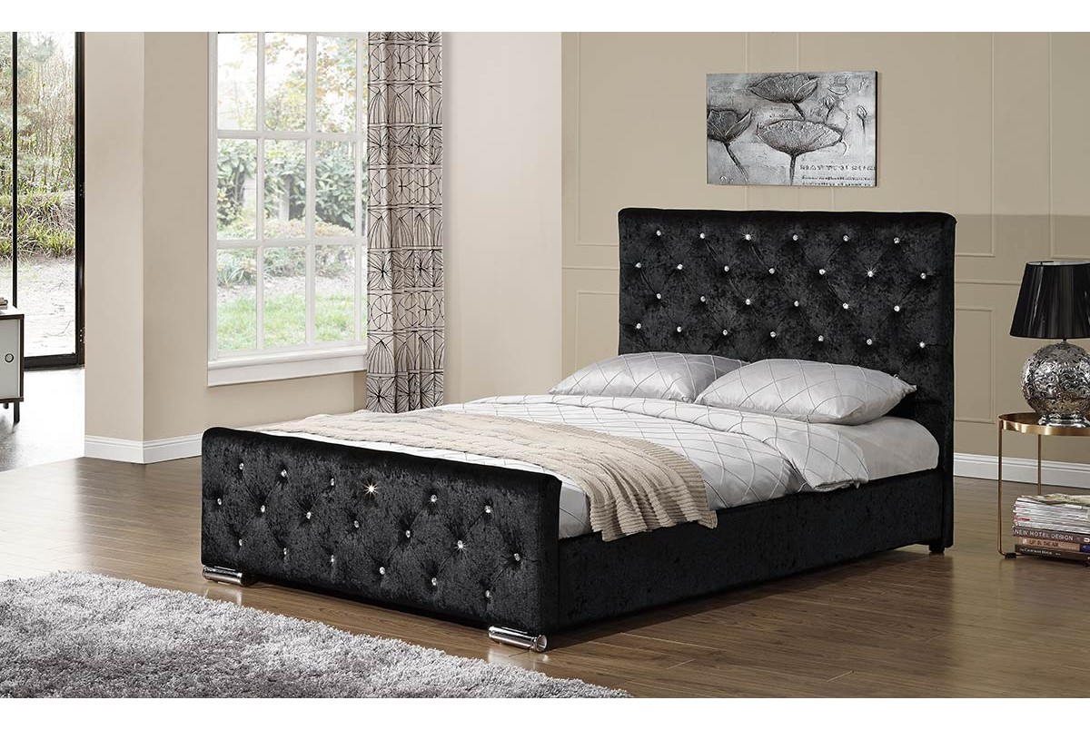 Beaumont Fabric Bed Double