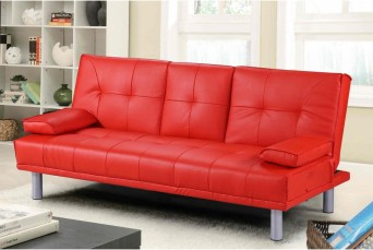MANHATTAN SOFA BED - RED