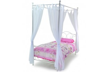 METAL MUSE 3'0 SINGLE BED WHITE