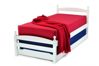 PALERMO GUEST BED- WHITE