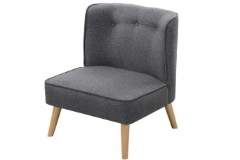 MILFORD CHARCOAL GREY CHAIR