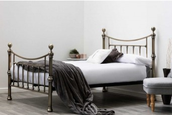 STRATFORD BRASS BED 4FT6 DOUBLE