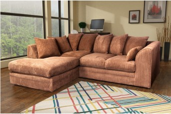 DYLAN JUMBO COFFEE LEFT HAND CORNER SOFA BY NEW YORK SOFA COMPANY