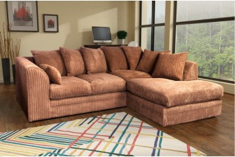 DYLAN JUMBO COFFEE RIGHT HAND CORNER SOFA BY NEW YORK SOFA COMPANY