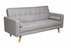 BOSTON FABRIC SOFA BED- LIGHT GREY