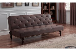 CHARLES SOFA BED BROWN