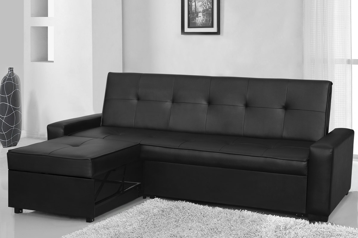 Seattle black sofa bed for Seattle sofa bed