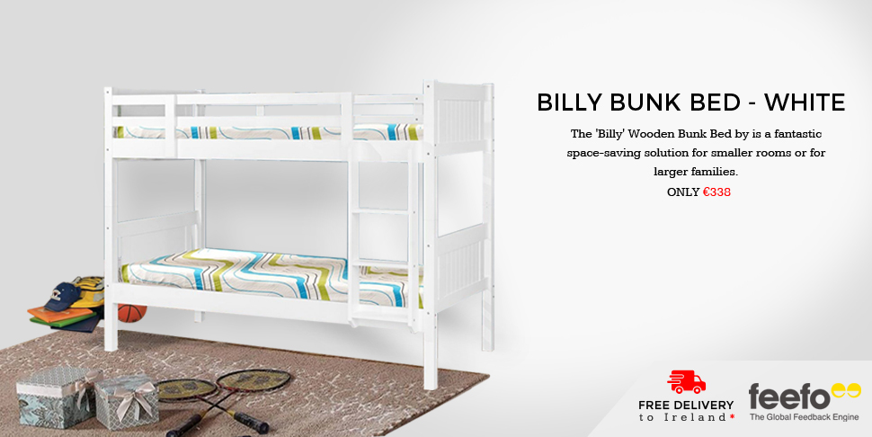 Billy Bunk Bad- White