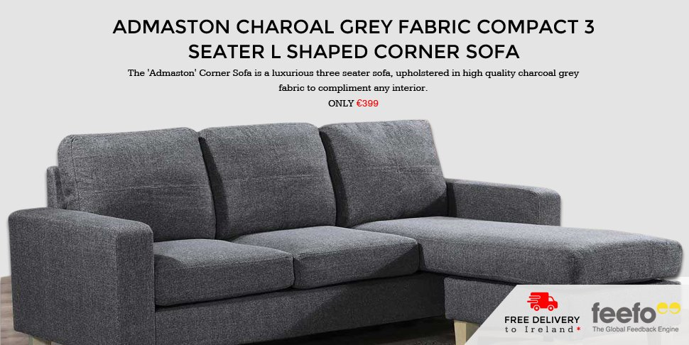 Admaston charoal sofa